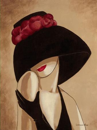 A kalapos nő