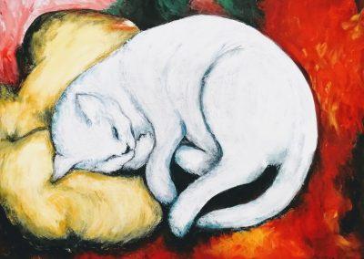 A fehér cica